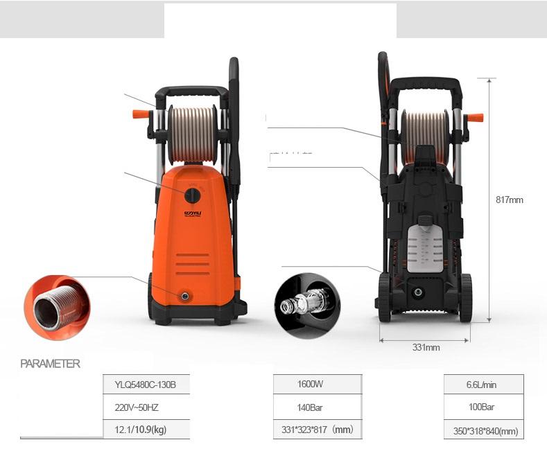 Haute puissance haute pression lave auto 5480 220v pompe haute pression machine laver - Pompe a eau machine a laver ...